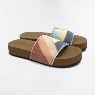Sandalias plataforma RIP CURL Chanclas cómodas para Mujer Pool Party Shoes Ref. TGTC17 multicolor