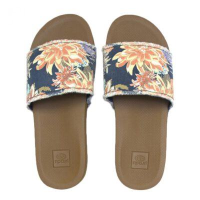 Sandalias plataforma RIP CURL Chanclas cómodas para Mujer Pool Party Shoes Ref. TGTC17 flores azul