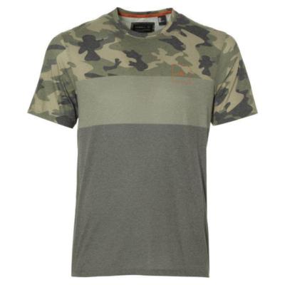 Camiseta O'NEILL hombre manga corta surfera YARDAGE T-SHIRT Green camo Ref. 8P2304 camuflaje