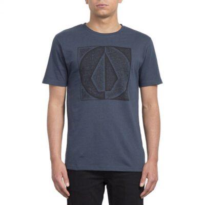 Camiseta VOLCOM manga corta hombre surfera TAMP DIVIDE SS TEE Indigo Ref. A5711952 azul logo pecho
