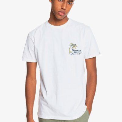 Camiseta Hombre QUIKSILVER manga corta Another Escape CABBAGE (wbbo) Ref. EQYZT06330 blanca paradise playa