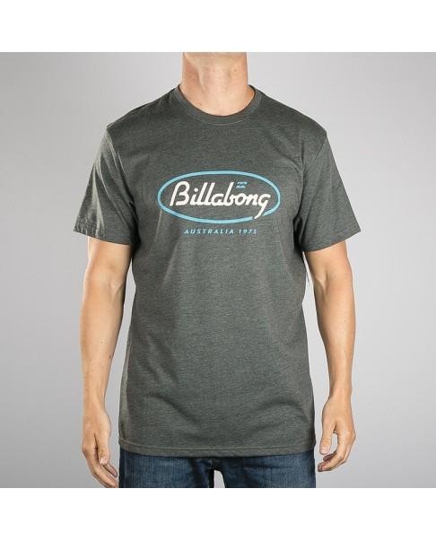 Camiseta BILLABONG surfera para hombre manga corta State Beach tee ss Ref. S1SS03 Dark heather gris
