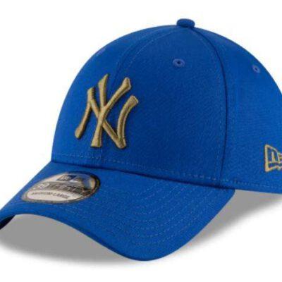 Gorra New Era Cap 39THIRTY NEW YORK YANKEES league essential Ref. 80635931 azul royal logo cobre