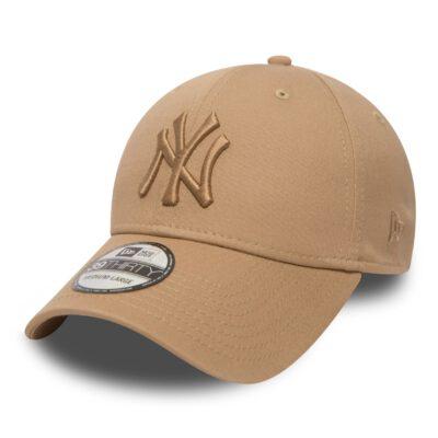 Gorra New Era Cap 39THIRTY NEW YORK YANKEES league essential Ref. 80536611 beig con logo beig