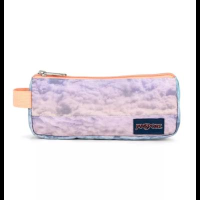 Estuche JanSport escolar: Basic Accessory Pouch Ref. EK0A5BAEN56 Cotton candy clouds nuves rosa palo