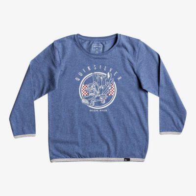 Camiseta QUIKSILVER manga larga niño Classic Official Deal (bqsh) Ref. EQKZT03126 azul logo pecho