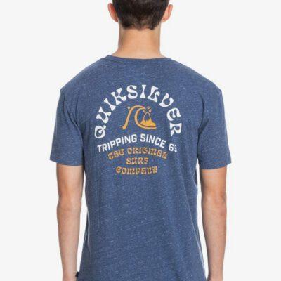 Camiseta QUIKSILVER Hombre manga corta Foreign Tides SARGASSO SEA HEATHER (bsgh) Ref. EQYZT06362 azul jaspeada
