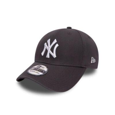 Gorra New Era Cap 39THIRTY NEW YORK YANKEES washed Ref. 80536574 gris con logo blanco