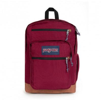 Mochila JanSport 34 litros triple con bolsillo para portátil COOL STUDENT Ref. EK0A5BAKN62 Russet red/granate