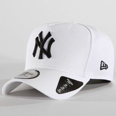 Gorra New Era Cap ADJUSTABLE New York Yankees Diamond Ref. 80581087 blanca logo azul marino