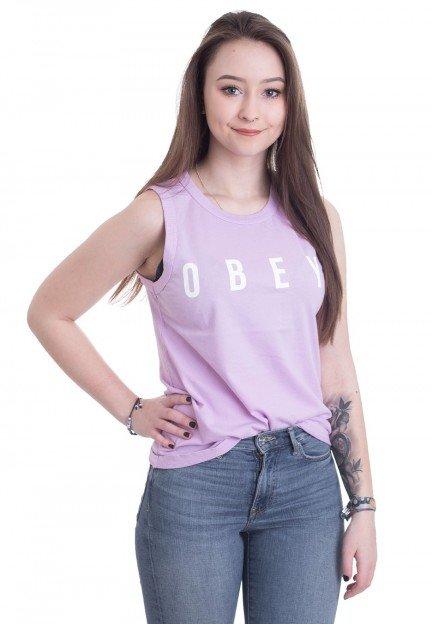 Camiseta OBEY tirantes para mujer ANYWAY Orchid Ref. 236971231 Lila claro