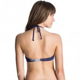 Sujetador de bikini ROXY una pieza para Mujer Getaway bandeau Top (pss6) Ref. ARJX303103 morado flores