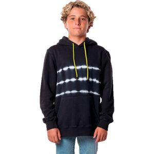 Sudadera niño RIP CURL con capucha  y bolsillos  ref kfekh4   grateful dye hood boys color washed black