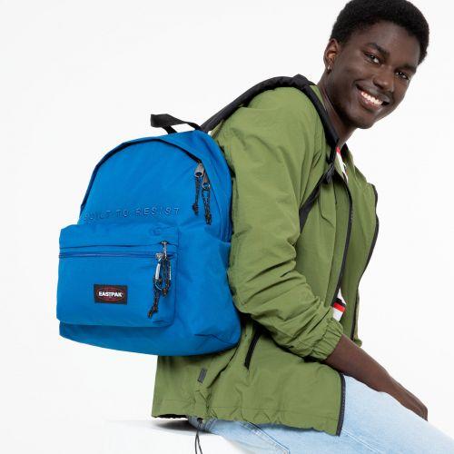 MOCHILA EASTPAK Padded Zippl'r 24 litros bolsillo portátil EK0A5B74K48 + Mysty Embroider Bold azul royal