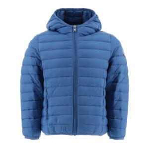 Chaqueta capucha Jott de plumas pato Niño 178-BLEU HUGO BASIC Justoverthetop Color azul