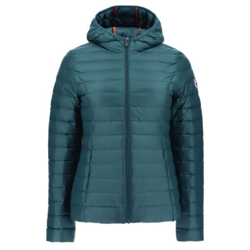 Chaqueta con capucha Jott de plumas pato Mujer CLOE BASIC 4900/231-VERT SAPINA Justoverthetop Color verde
