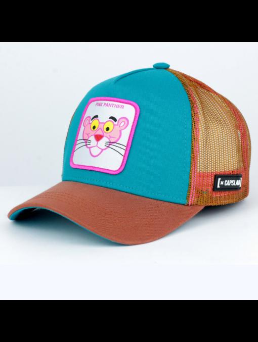 Gorra CAPSLAB rejilla y ajustable Trucker Looney Tunes Dibujos animados Pink Panther Pantera Rosa