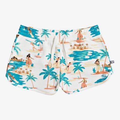 Pantalón corto ROXY short chándal niña The People SNOW WHITE HONOLULU (wbk8) Ref. EERGFB03143 blanco Hawai