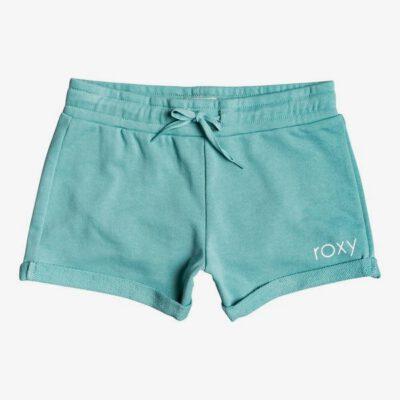 Pantalón corto ROXY Short de felpa para niña Always Like This B CANTON (ght0) Ref. ERGFB03154 verde agua
