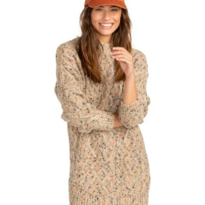 Jersey BILLABONG largo vestido cuello redondo para Mujer Country Side ANTIQUE WHITE (4409) Ref. Z3DR01BIF1 multicolor