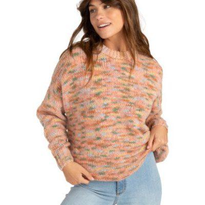Cárdigan jersey BILLABONG corto cuello redondo para Mujer In The Sky MULTI (1220) Ref. Z3JP02BIF1 multicolor