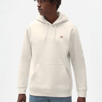 Sudadera DICKIES hombre con capucha suave Oakport Hoodie Brown Ref. DK0A4XCDECR1 blanco crudo