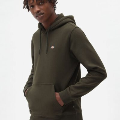 Sudadera DICKIES hombre con capucha suave Oakport Hoodie green Ref. DK0A4XCDOGX1 verde oliva