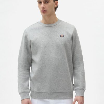 Sudadera DICKIES hombre cuello redondo suave Oakport Sweattshirt grey Ref. DK0A4XCEGYM1 gris claro